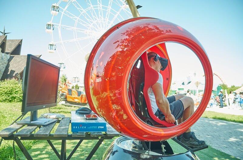 VR-аттракционы в парке SKAZKA